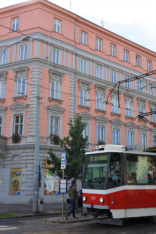 Tramway de Brno @pink.turtle.blog