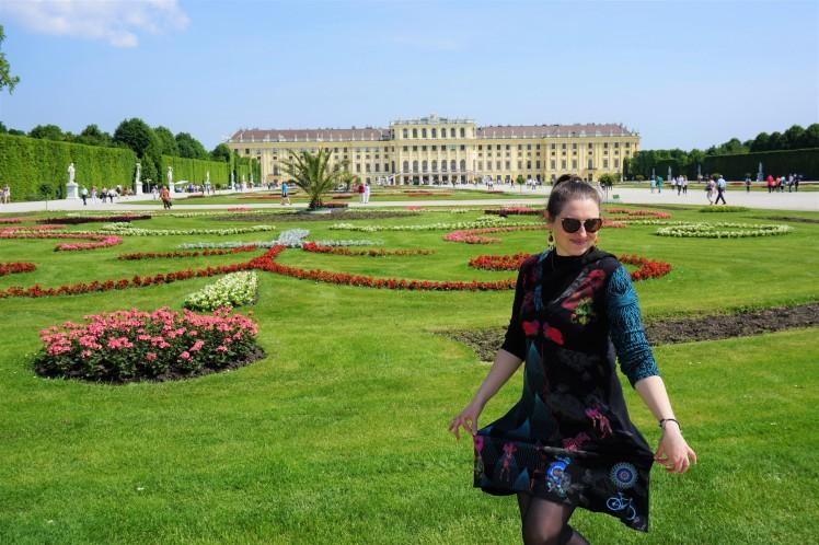 Château de Schönbrunn, Vienne @pink.turtle.blog