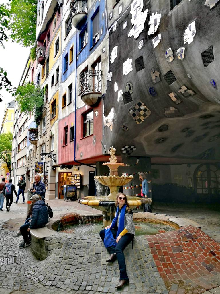 Hundertwasserhaus, Vienne @pink.turtle.blog
