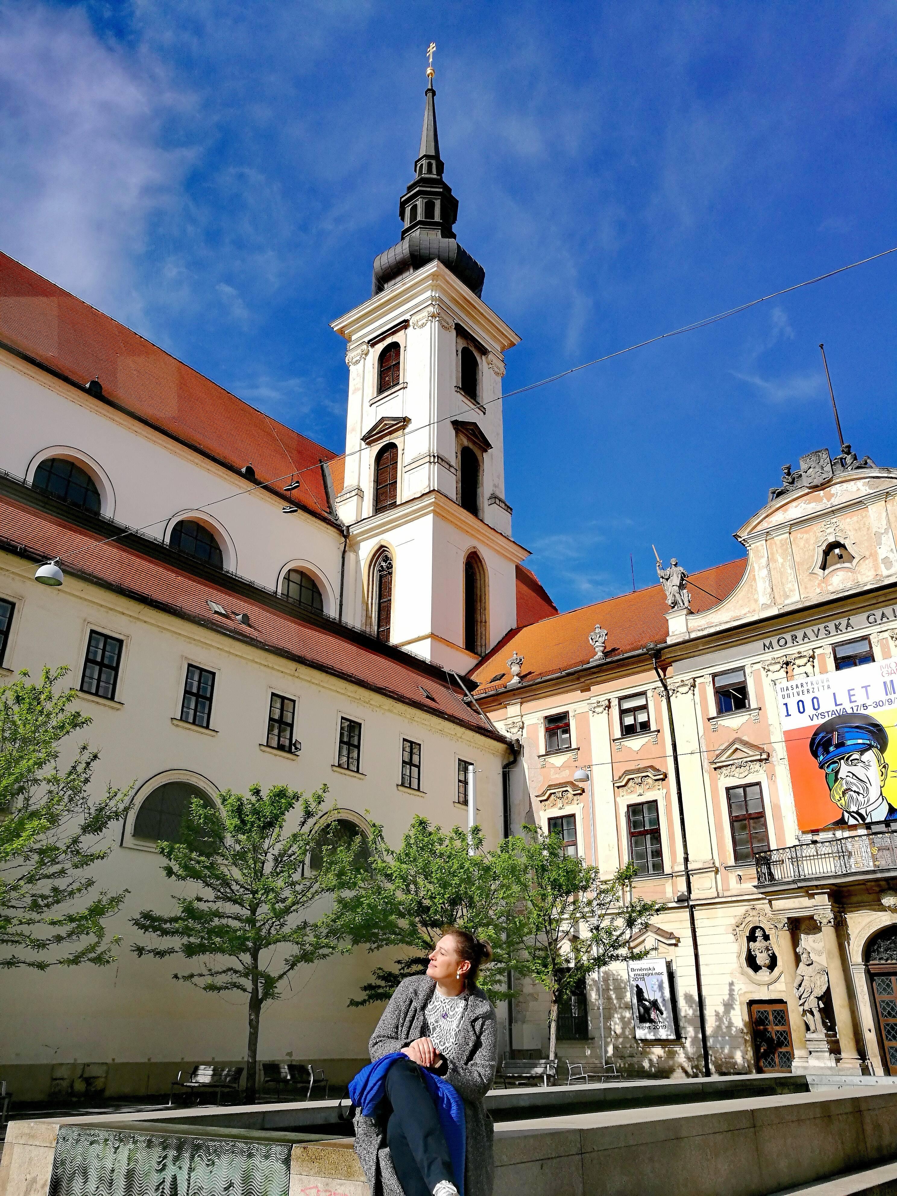 Centre-ville de Brno @pink.turtle.blog