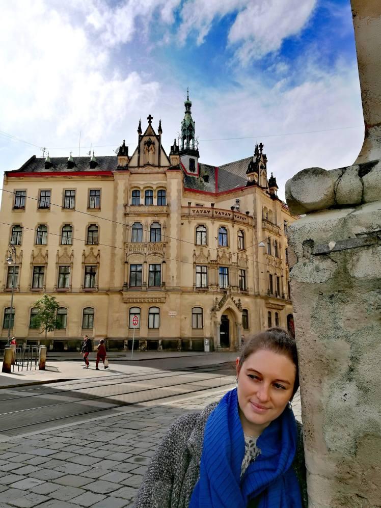 Un des plus anciens bâtiments de Brno @pink.turtle.blog