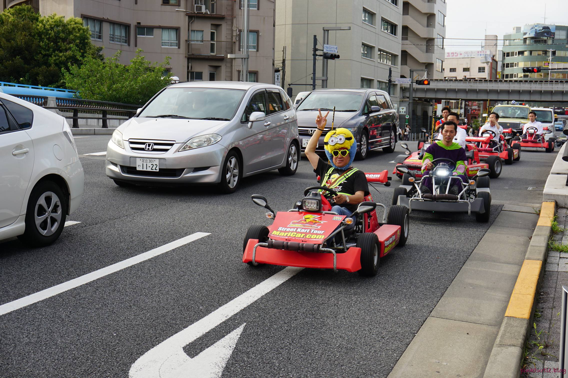 Rues de Tokyo @pink.turtle.blog