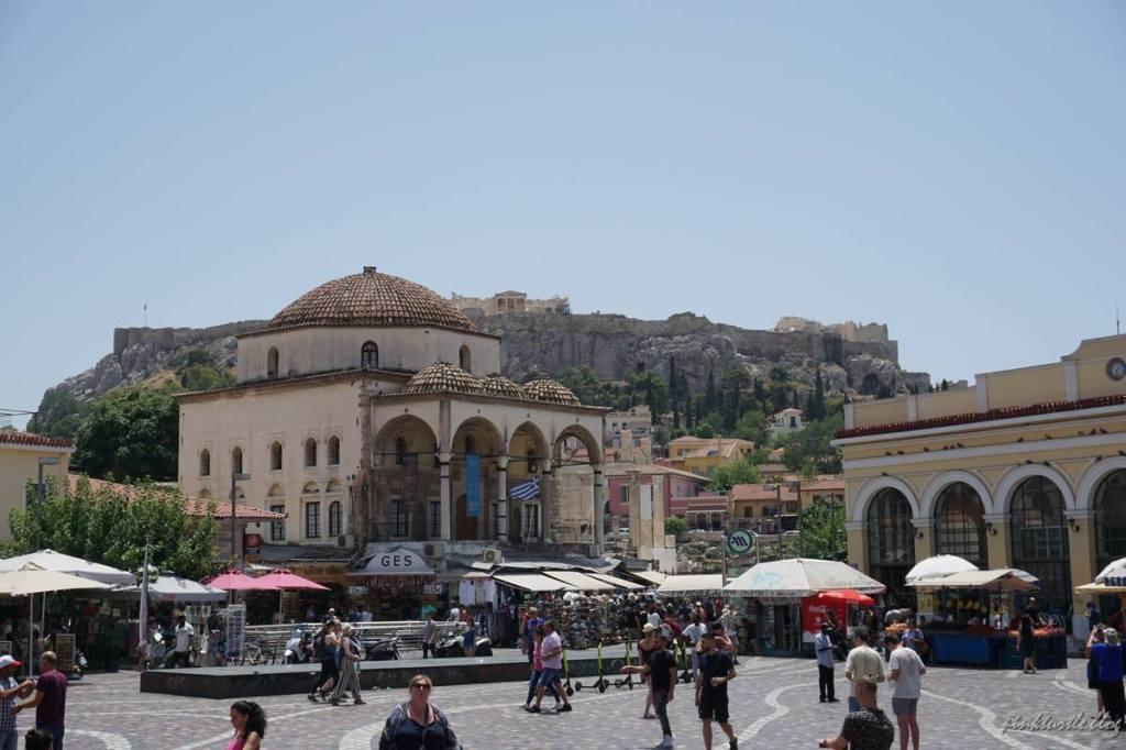 Quartier Monastiraki, Athènes @pink.turtle.blog