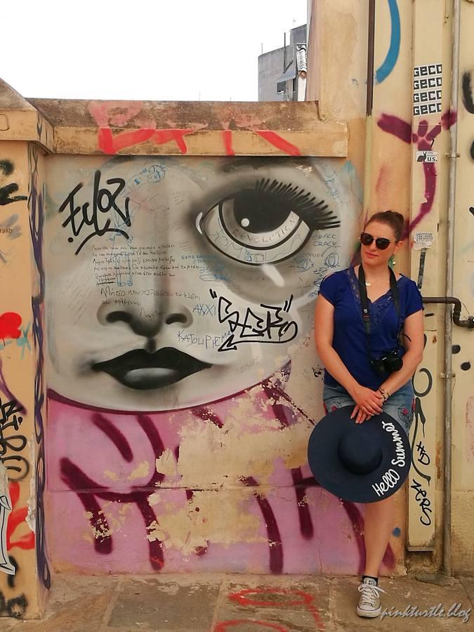 Street-art, Athènes @pink.turtle.blog