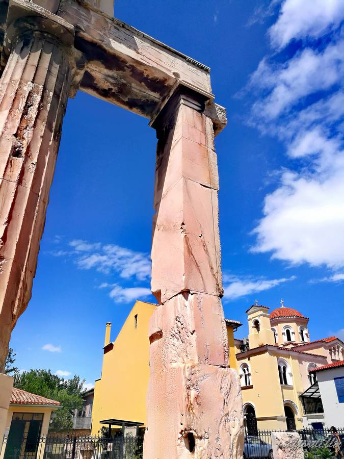 L'Agora romaine, Athènes @pink.turtle.blog