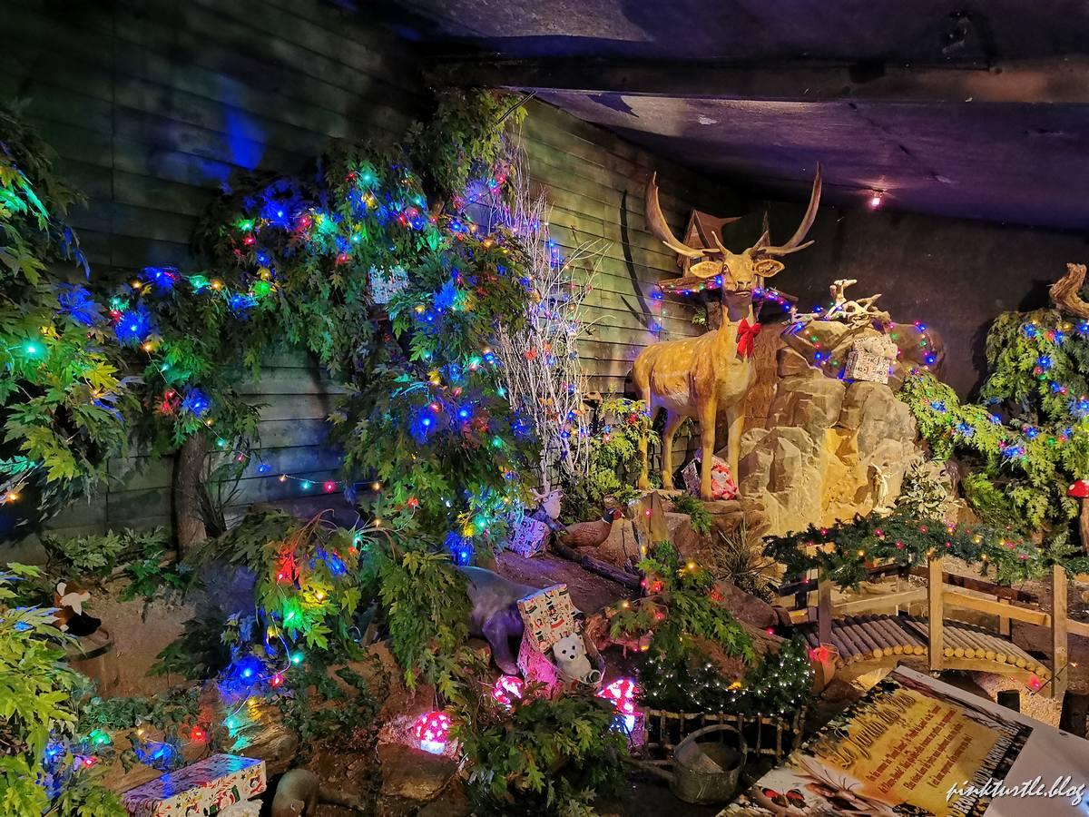 Décors de Noël, Legendia Parc @pink.turtle.blog