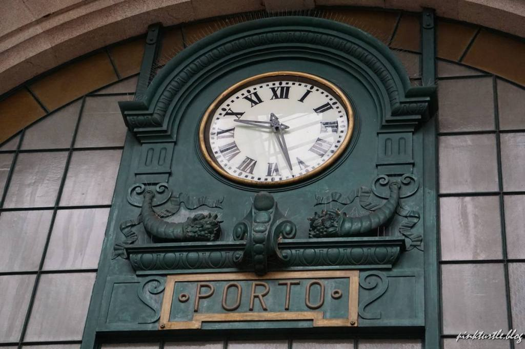 La gare Sao Bento, Porto @pink.turtle.blog