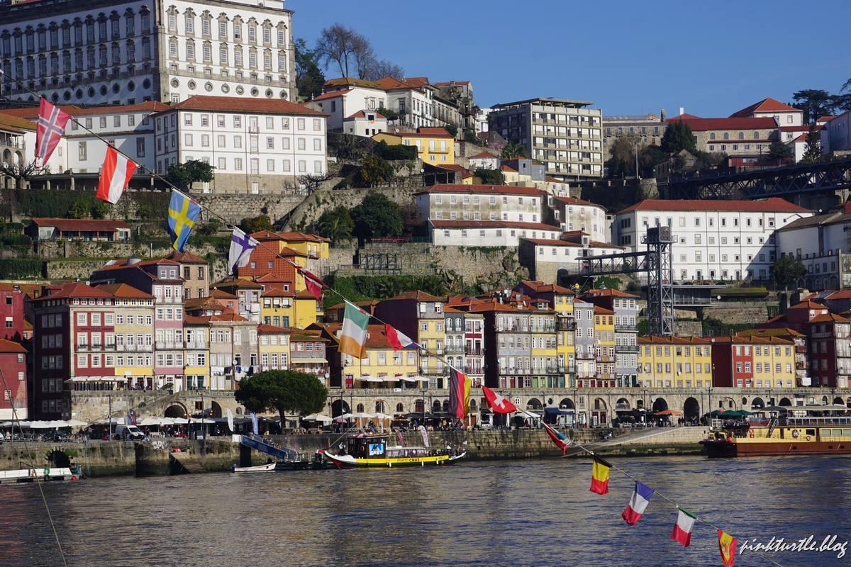 Quartier de la Ribeira, Porto @pink.turtle.blog