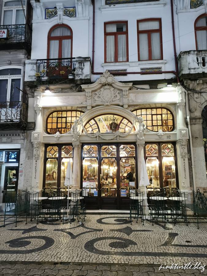 Le Café Majestic, Porto @pink.turtle.blog