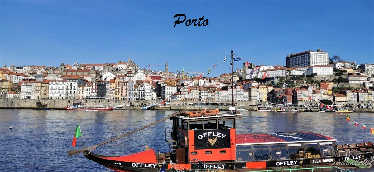 Porto le long du Douro @pink.turtle.blog