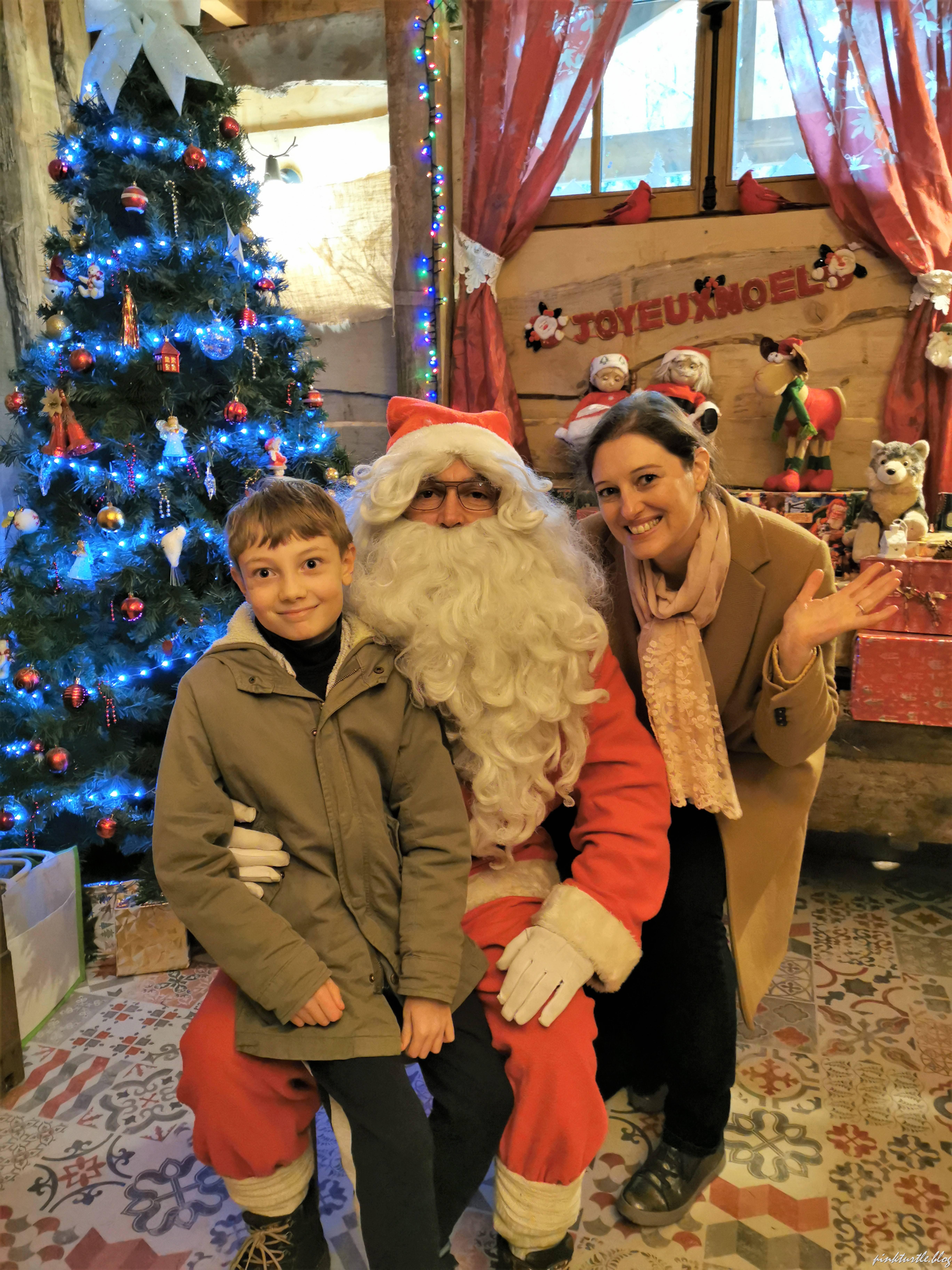 Le Père Noël du Parc @pink.turtle.blog