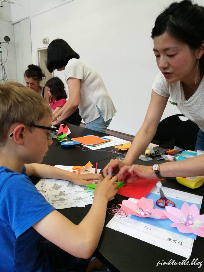 Atelier d'origami, Nantes @pink.turtle.blog