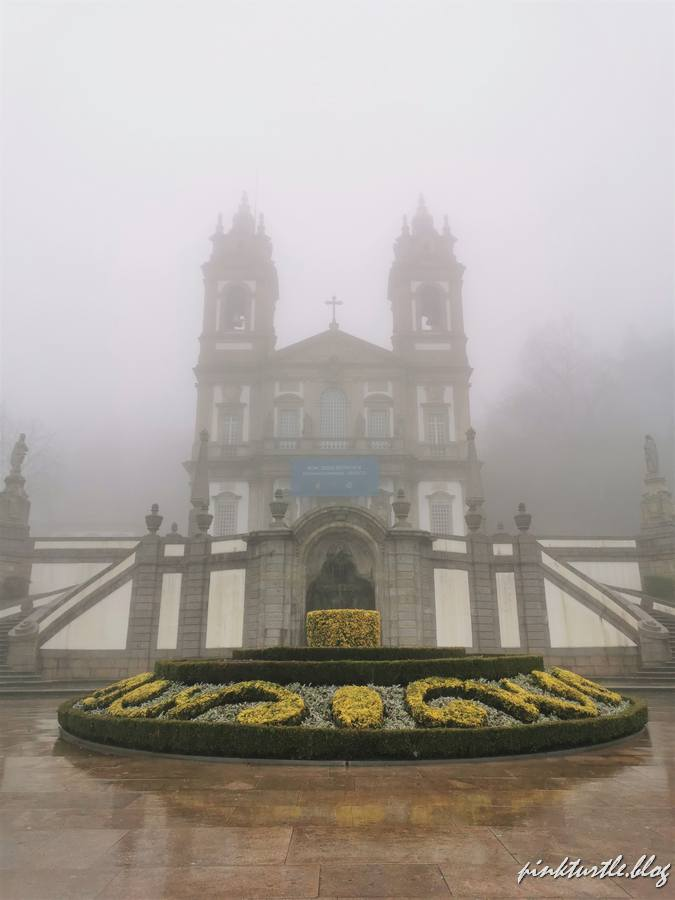 Sanctuaire Bom Jesus, Braga @pink.turtle.blog