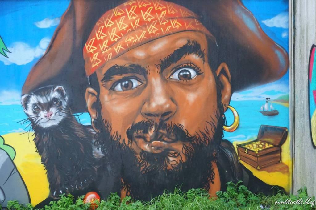 Street-art, Méan-Penhoët, Saint-Nazaire @pink.turtle.blog