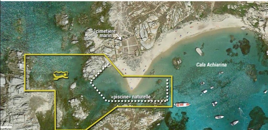 Spots de snorkeling, îles Lavezzi (Site snorkeling report)