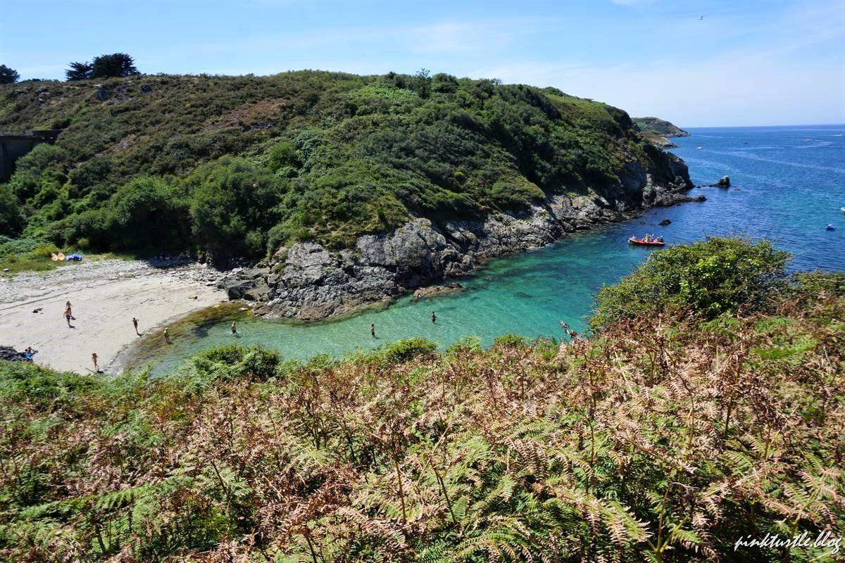 Plage de Poulziorec, île de Groix @pinkturtle.blog