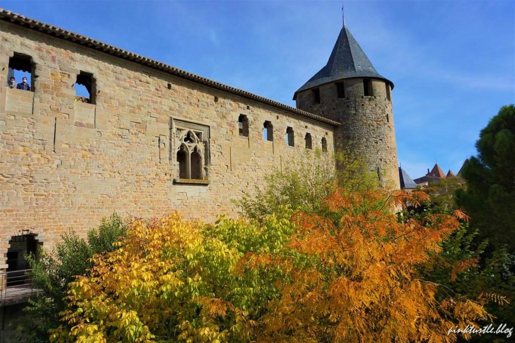 Château de la cité de Carcassonne @pinkturtle.blog